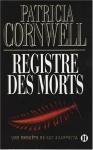 """Couverture du livre : """"Registre des morts"""""""