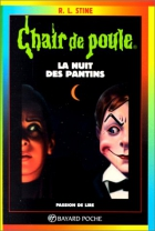 """Couverture du livre : """"La nuit des pantins"""""""