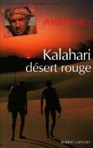 """Couverture du livre : """"Kalahari désert rouge"""""""