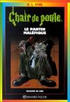 """Couverture du livre : """"Le pantin maléfique"""""""