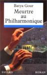 """Couverture du livre : """"Meurtre au philharmonique"""""""