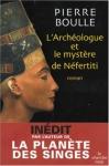 """Couverture du livre : """"L'archéologue et le mystère de Néfertiti"""""""
