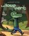 """Couverture du livre : """"Le loup vert"""""""