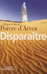 """Couverture du livre : """"Disparaître"""""""