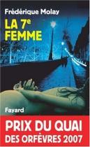 """Couverture du livre : """"La 7e femme"""""""