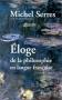 """Couverture du livre : """"Eloge de la philosophie en langue française"""""""