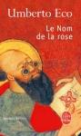 """Couverture du livre : """"Le nom de la rose"""""""