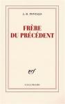 """Couverture du livre : """"Frère du précédent"""""""