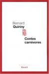 """Couverture du livre : """"Contes carnivores"""""""