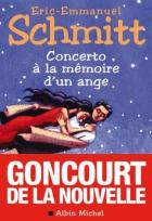 """Couverture du livre : """"Concerto à la mémoire d'un ange"""""""