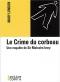 """Couverture du livre : """"Le crime du corbeau"""""""