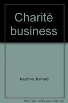 """Couverture du livre : """"Charité business"""""""