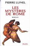 """Couverture du livre : """"Les mystères de Rome"""""""