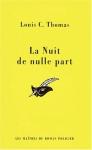 """Couverture du livre : """"La nuit de nulle part"""""""