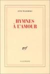 """Couverture du livre : """"Hymnes à l'amour"""""""