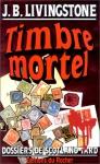 """Couverture du livre : """"Timbre mortel"""""""