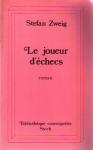 """Couverture du livre : """"Le joueur d'échecs"""""""