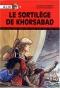 """Couverture du livre : """"Le sortilège de Khorsabad"""""""