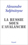 """Couverture du livre : """"La Russie sous l'avalanche"""""""