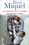 """Couverture du livre : """"Les pantalons rouges"""""""
