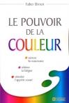 """Couverture du livre : """"Le pouvoir de la couleur"""""""