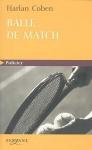 """Couverture du livre : """"Balle de match"""""""