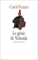 """Couverture du livre : """"Le génie de Yolanda"""""""