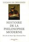 """Couverture du livre : """"Histoire de la philosophie moderne"""""""