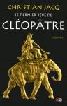 """Couverture du livre : """"Le dernier rêve de Cléopâtre"""""""