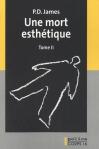"""Couverture du livre : """"Une mort esthétique"""""""