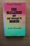"""Couverture du livre : """"Ces maladies qui ont changé le monde"""""""