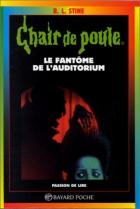 """Couverture du livre : """"Le fantôme de l'auditorium"""""""