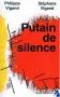 """Couverture du livre : """"Putain de silence"""""""