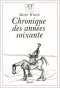 """Couverture du livre : """"Chronique des années soixante"""""""