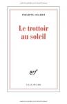 """Couverture du livre : """"Le trottoir au soleil"""""""