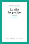 """Couverture du livre : """"La ville des prodiges"""""""
