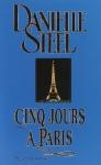 """Couverture du livre : """"Cinq jours à Paris"""""""
