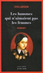 """Couverture du livre : """"Les hommes qui n'aimaient pas les femmes"""""""