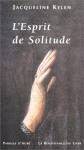 """Couverture du livre : """"L'esprit de solitude"""""""