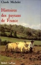 """Couverture du livre : """"Histoires des paysans de France"""""""