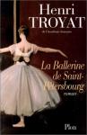 """Couverture du livre : """"La ballerine de Saint-Pétersbourg"""""""