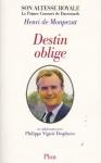 """Couverture du livre : """"Destin oblige"""""""