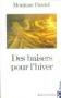 """Couverture du livre : """"Des baisers pour l'hiver"""""""