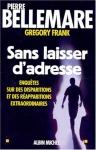 """Couverture du livre : """"Sans laisser d'adresse"""""""