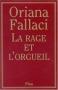 """Couverture du livre : """"La rage et l'orgueil"""""""