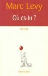 """Couverture du livre : """"Où es-tu ?"""""""
