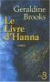 """Couverture du livre : """"Le livre d'Hanna"""""""