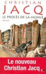 """Couverture du livre : """"Le procès de la momie"""""""