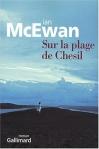 """Couverture du livre : """"Sur la plage de Chesil"""""""