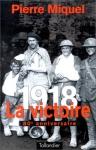 """Couverture du livre : """"1918"""""""